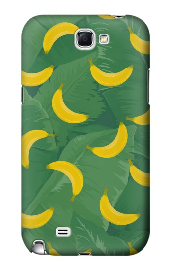 Printed Banana Fruit Pattern Samsung Note 2 Case