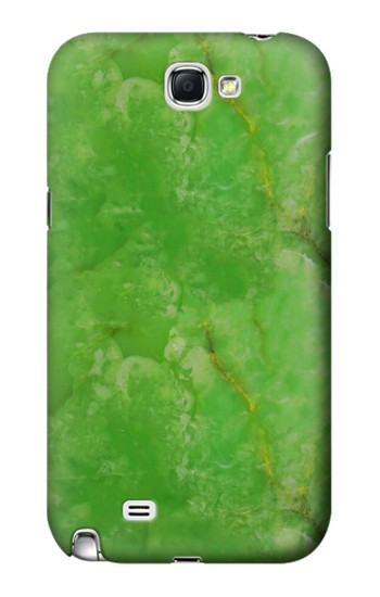 Printed Green Jade Printed Texture Samsung Note 2 Case