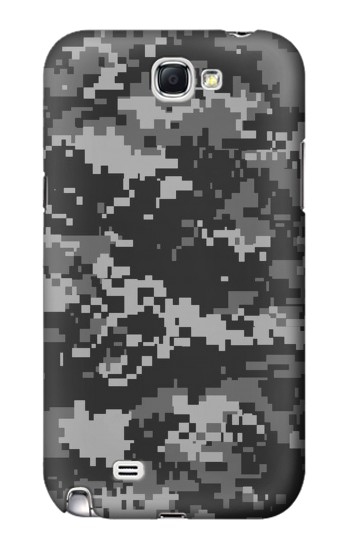 Printed Urban Black Camouflage Samsung Note 2 Case