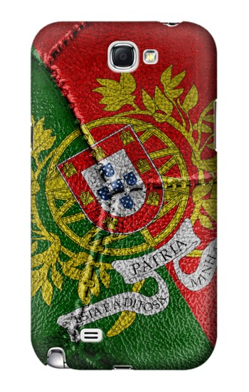 Printed Portugal Flag Vintage Football 2018 Samsung Note 2 Case