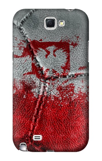 Printed Poland Flag Vintage Football 2018 Samsung Note 2 Case