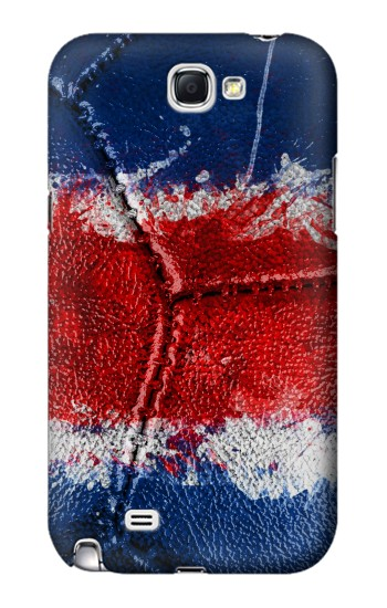 Printed Costa Rica Flag Vintage Football 2018 Samsung Note 2 Case