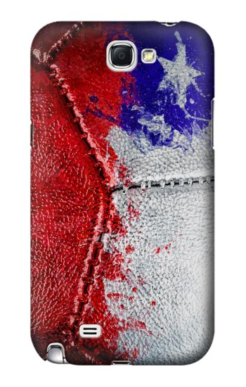 Printed Chile Flag Vintage Football 2018 Samsung Note 2 Case