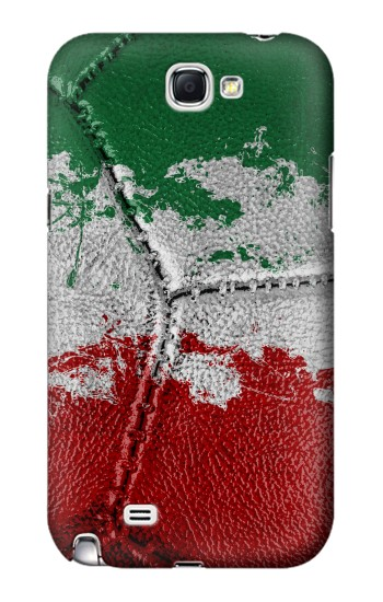 Printed Italy Flag Vintage Football 2018 Samsung Note 2 Case