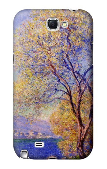 Printed Claude Monet Antibes Seen from the Salis Gardens Samsung Note 2 Case