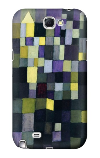 Printed Paul Klee Architecture Samsung Note 2 Case