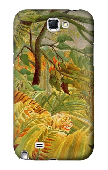 Printed Henri Rousseau Tiger in a Tropical Storm Samsung Note 2 Case