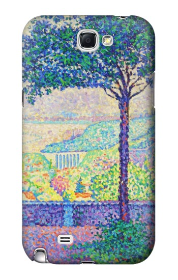 Printed Paul Signac Terrace of Meudon Samsung Note 2 Case