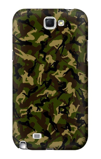 Printed Sexy Girls Camo Samsung Note 2 Case