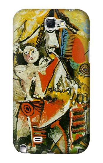 Printed Picasso Painting Cubism Samsung Note 2 Case