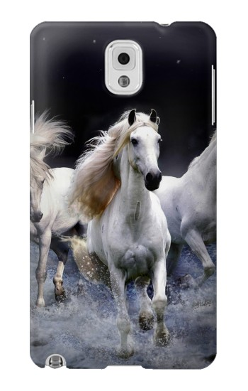 Printed White Horse Samsung Note 3 Case