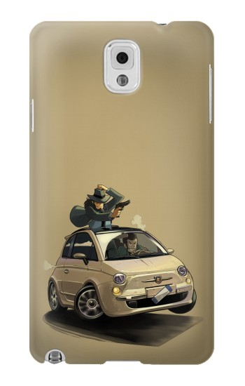 Printed Lupin The Third Samsung Note 3 Case