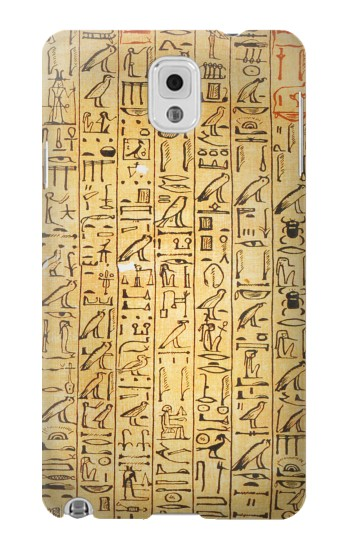 Printed Egyptian Coffin Texts Samsung Note 3 Case