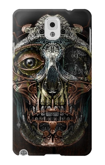 Printed Steampunk Skull Head Samsung Note 3 Case