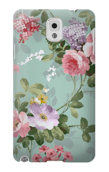 Printed Flower Floral Art Painting Samsung Note 3 Case