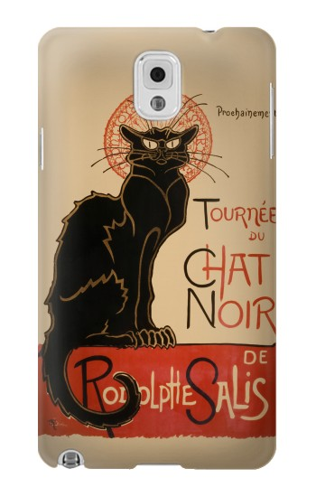 Printed Chat Noir The Black Cat Samsung Note 3 Case