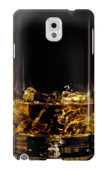 Printed Ice Whiskey Glass Samsung Note 3 Case