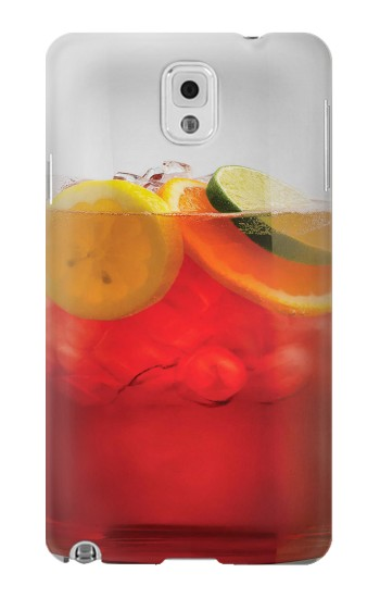 Printed Punch Cocktail Drink Fruit Glass Samsung Note 3 Case