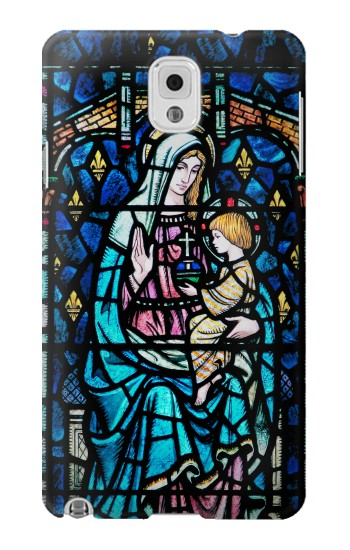 Printed Mosaic Colourful Lady Mary Samsung Note 3 Case