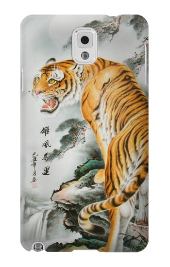 Printed Chinese Tiger Painting Tattoo Samsung Note 3 Case