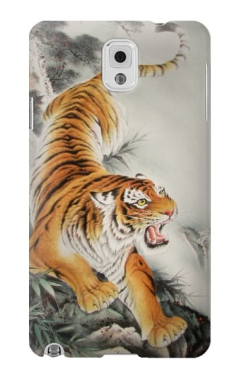 Printed Chinese Tiger Tattoo Painting Samsung Note 3 Case