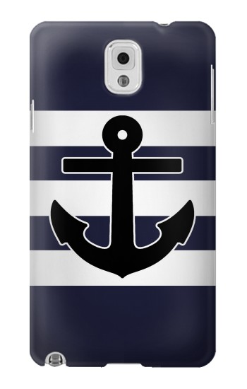 Printed Anchor Navy Samsung Note 3 Case