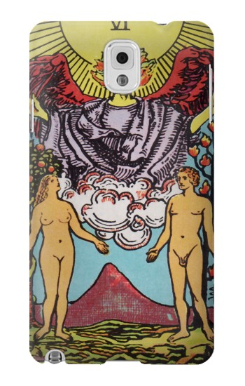 Printed Lovers Tarot Card Samsung Note 3 Case