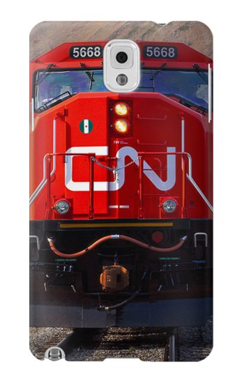 Printed Train Canadian National Railway Samsung Note 3 Case