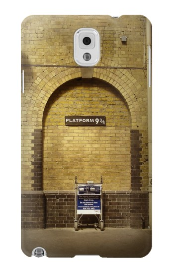 Printed Platform 934 London Railway Station Samsung Note 3 Case