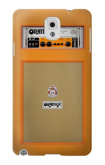 Printed Orange Amplifier Samsung Note 3 Case