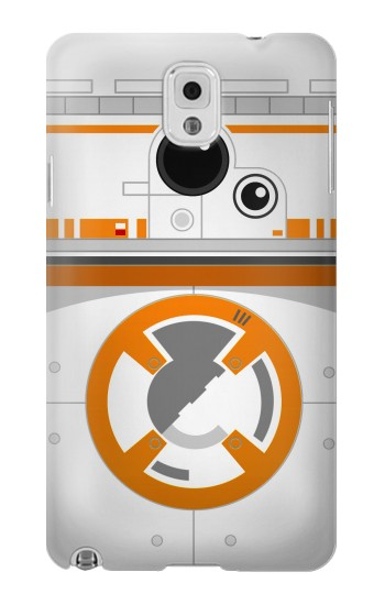 Printed BB-8 Droid Robot Minimalist Samsung Note 3 Case