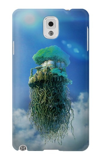 Printed Castle in the Sky Samsung Note 3 Case