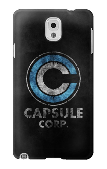 Printed Dragonball Capsule Corp Symbol Samsung Note 3 Case