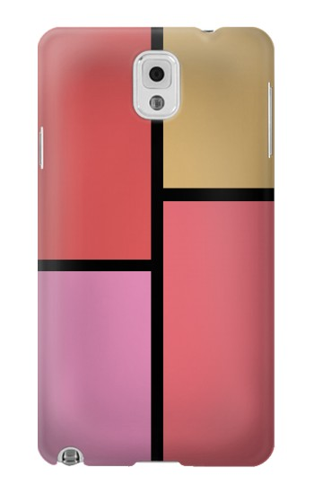 Printed Cheek Palette Color Samsung Note 3 Case