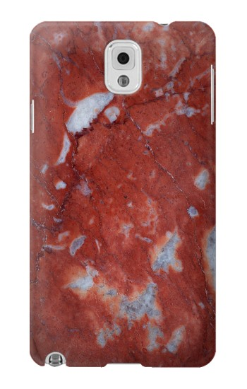 Printed Red Marble Stone Texture Printed Samsung Note 3 Case