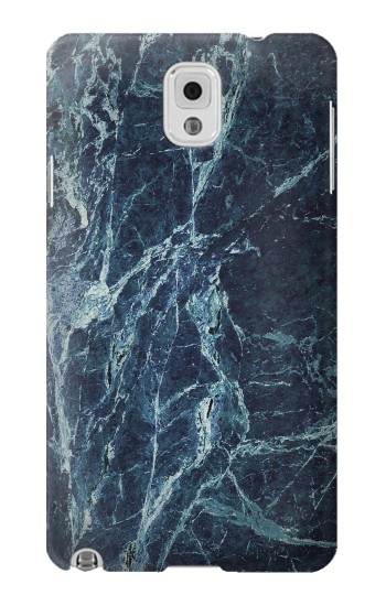 Printed Light Blue Marble Stone Texture Printed Samsung Note 3 Case