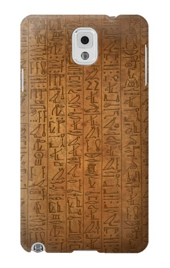 Printed Egyptian Hierogylphics Papyrus of Ani Samsung Note 3 Case