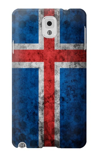 Printed Iceland Football Flag Samsung Note 3 Case