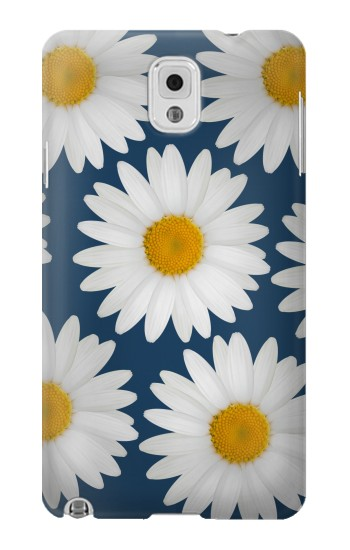 Printed Daisy Blue Samsung Note 3 Case