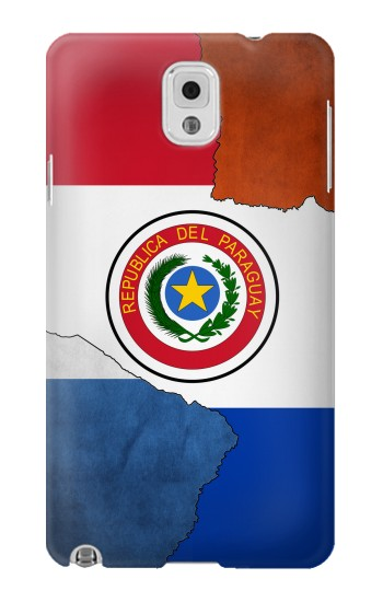 Printed Paraguay Flag Samsung Note 3 Case