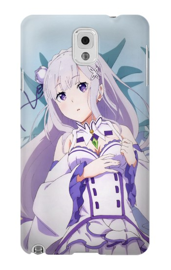 Printed Emilia Re Zero Starting Life in Another World Samsung Note 3 Case