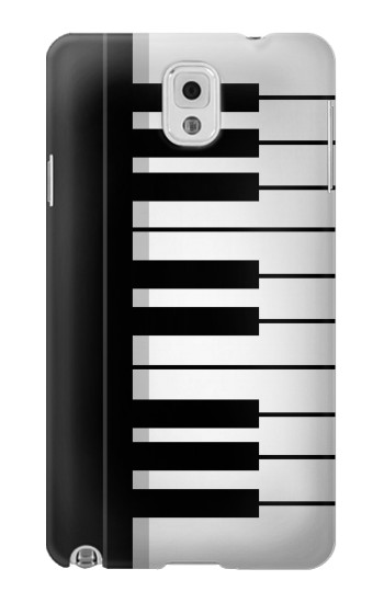 Printed Black and White Piano Keyboard Samsung Note 3 Case