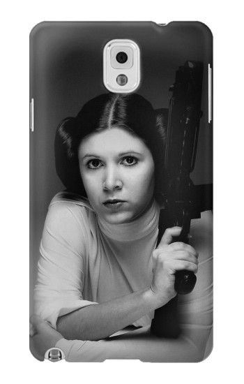 Printed Princess Leia Carrie Fisher Samsung Note 3 Case