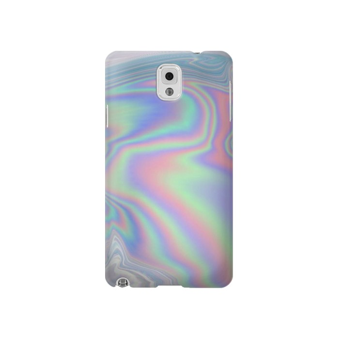 Printed Pastel Holographic Photo Printed Samsung Note 3 Case