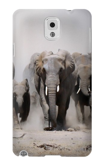 Printed African Elephant Samsung Note 3 Case