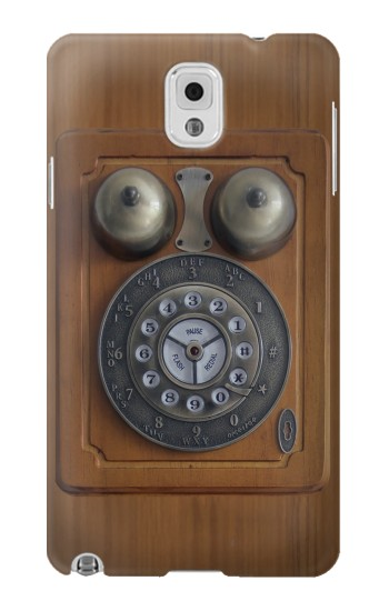 Printed Antique Wall Phone Samsung Note 3 Case