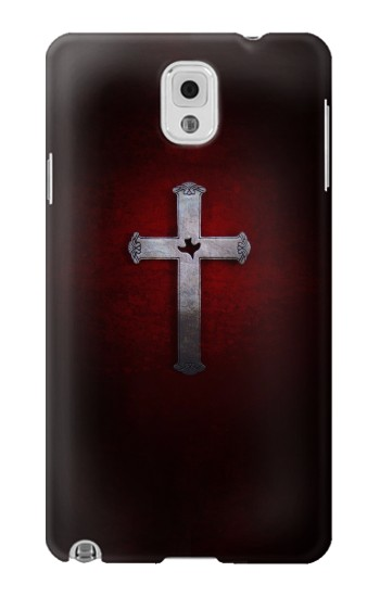 Printed Christian Cross Samsung Note 3 Case
