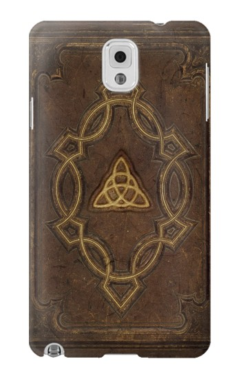 Printed Spell Book Cover Samsung Note 3 Case
