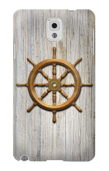 Printed Steering Wheel Ship Samsung Note 3 Case