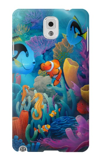 Printed Underwater World Cartoon Samsung Note 3 Case